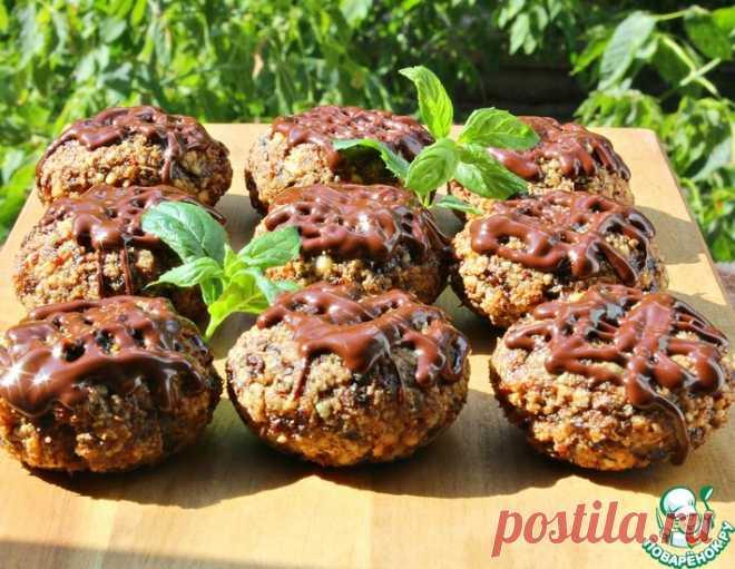 Ореховое печенье с черносливом – кулинарный рецепт