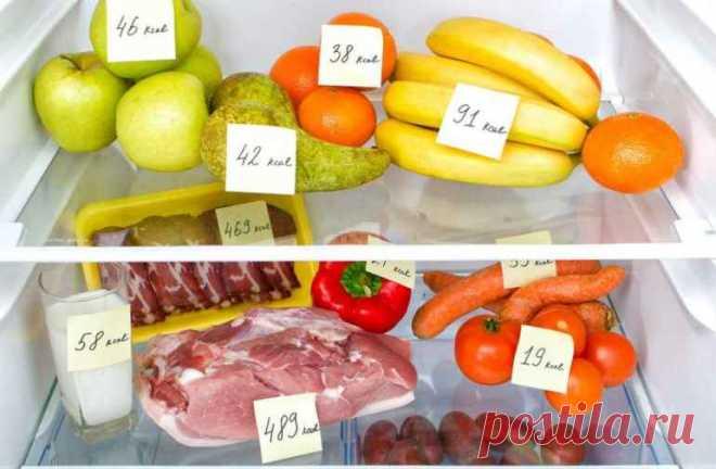 На какие продукты заменить привычную еду, чтобы худеть без подсчета калорий