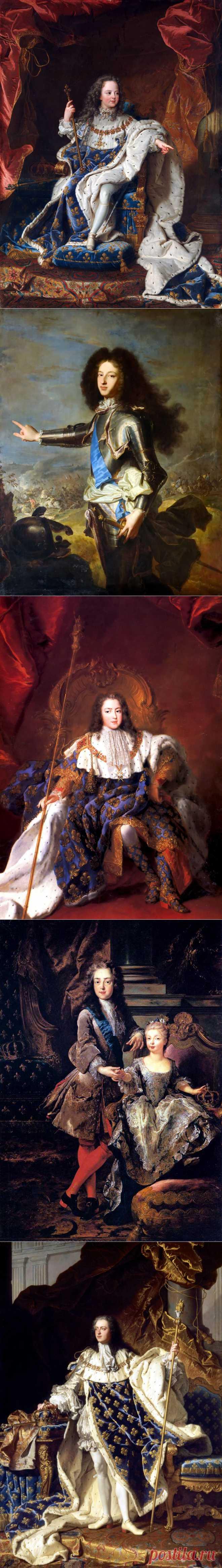 Короли и королевы Франции | Династия Бурбонов | Людовик XV (часть 1.).