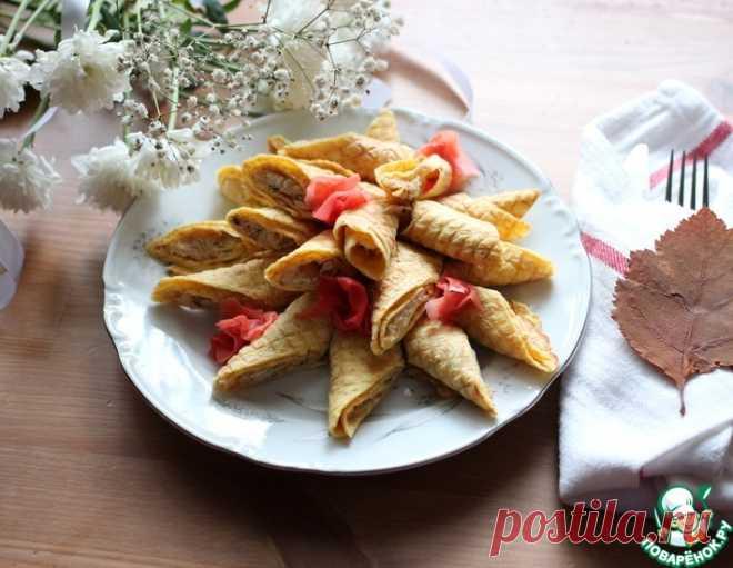 Кабачковые вафли с начинкой – кулинарный рецепт