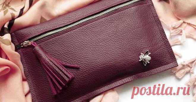 fc764396c Шьем стильный клатч из старых кожаных сапог — I Love Hobby — Лучшие мастер- классы