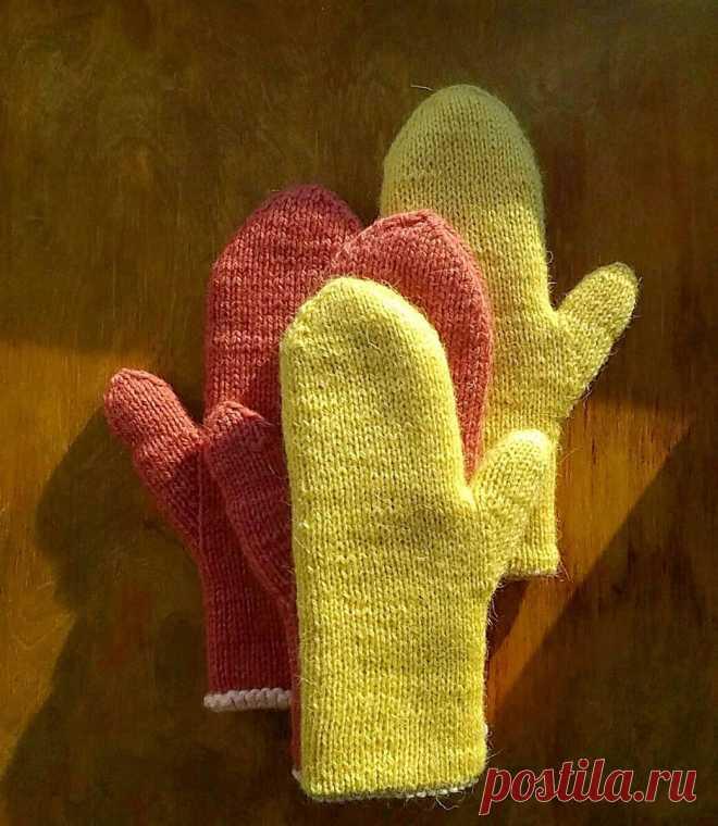 Вязальная шпаргалка. Варежки и перчатки |