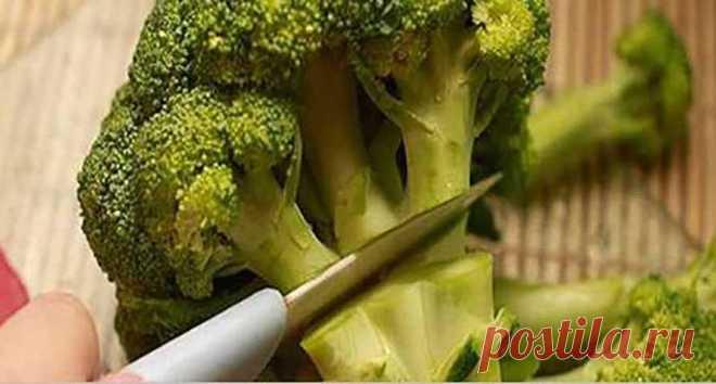 Правильный способ приготовить и потреблять брокколи и как не потерять их преимущества для здоровья!