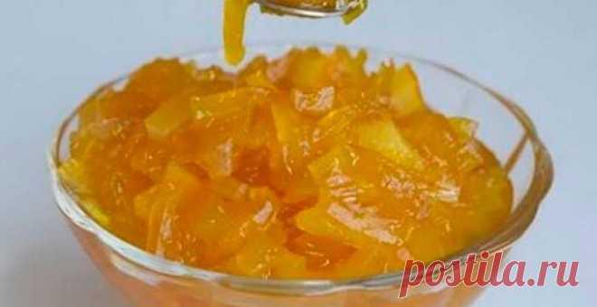 Варенье из тыквы и апельсинов | Кулинарный портал