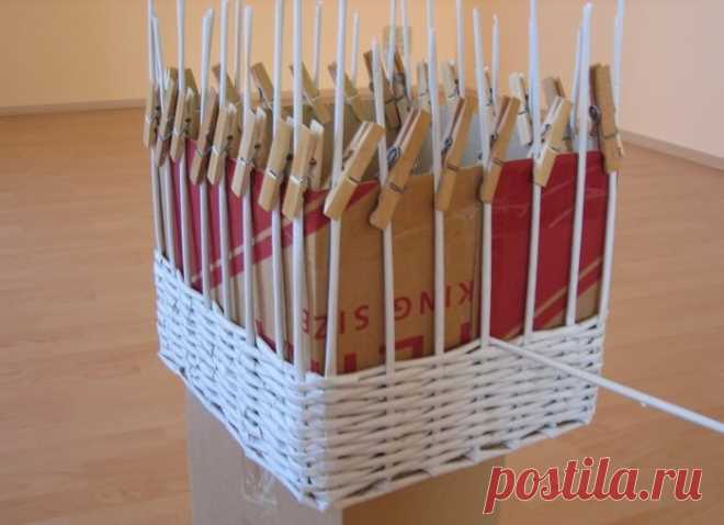 Плетение корзинок из газетных трубочек: узоры, схемы, описание, мастер класс