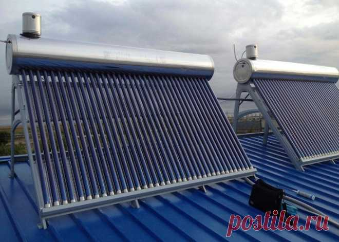 Как сделать солнечный коллектор для нагрева воды своими руками?