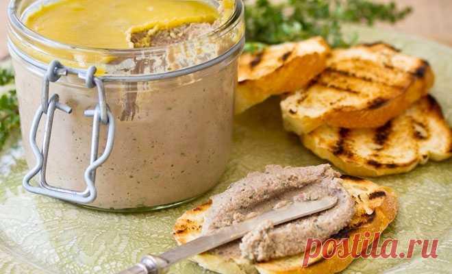 Паштет из куриной печени едим ложками: подсмотрели рецепт в ресторане