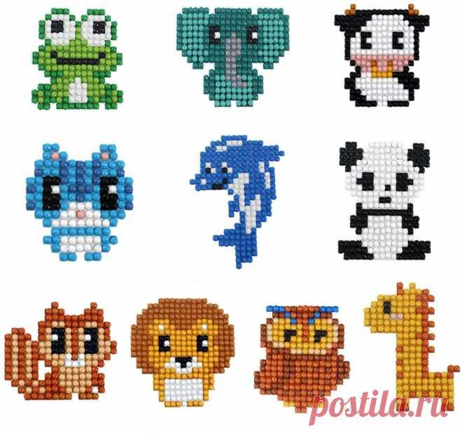 Amazon.com: 5D Diamond Pianting комплекты для детей алмазные наклейки для детей алмазные наклейки для животных: искусство, ремесла и шитье