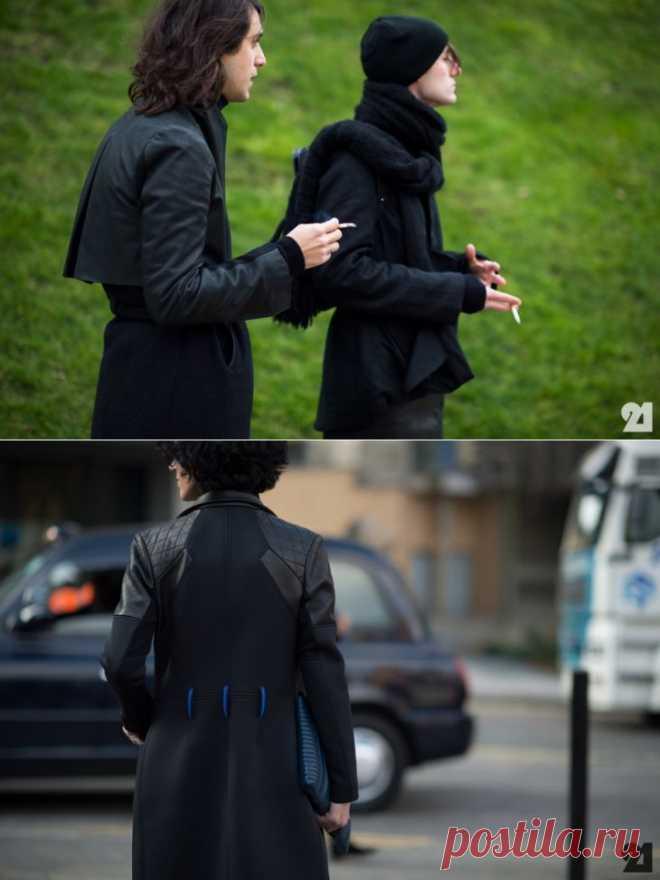 Два пальто с кожей / Пальто и плащ / ВТОРАЯ УЛИЦА
