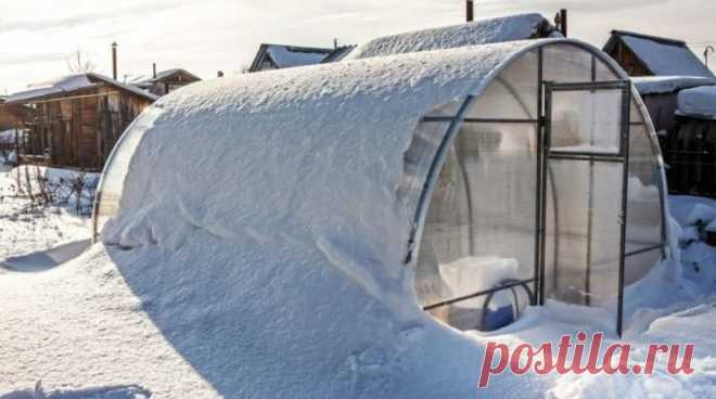 Подготовка теплицы из поликарбоната к зиме: как подготовить, как обработать и утеплить