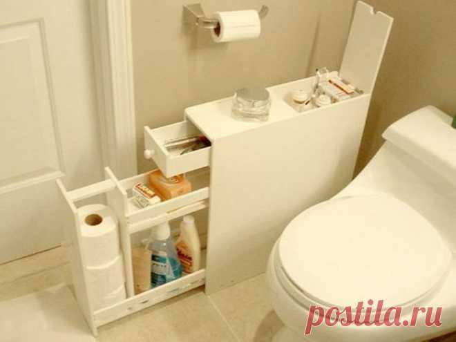 7 вариантов дополнительного места для хранения, если крохотная жилплощадь