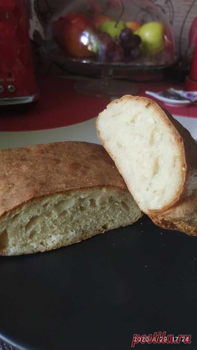 Быстрая чиабатта - пошаговый рецепт с фото на Повар.ру