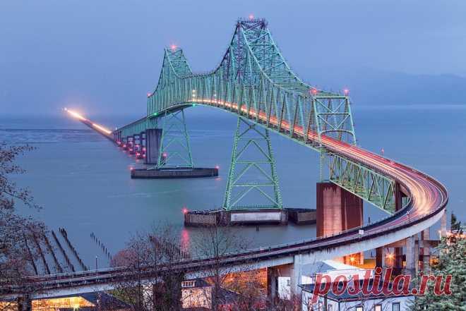 «Мост Астория — Меглер (Вашингтон, Оригона, США)» — карточка пользователя Алёна Ростунцова в Яндекс.Коллекциях