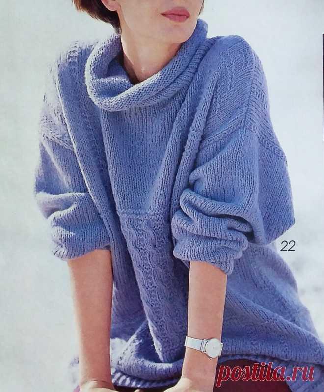 7 красивых пуловеров со схемами и описанием. | ЧТО СВЯЗАТЬ? | Яндекс Дзен