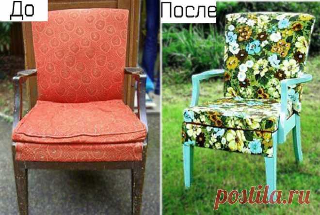 17 лучших идей переделки старой мебели