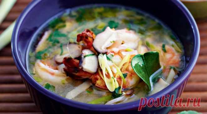 Суп том ям от Елены Супрун, пошаговый рецепт с фото