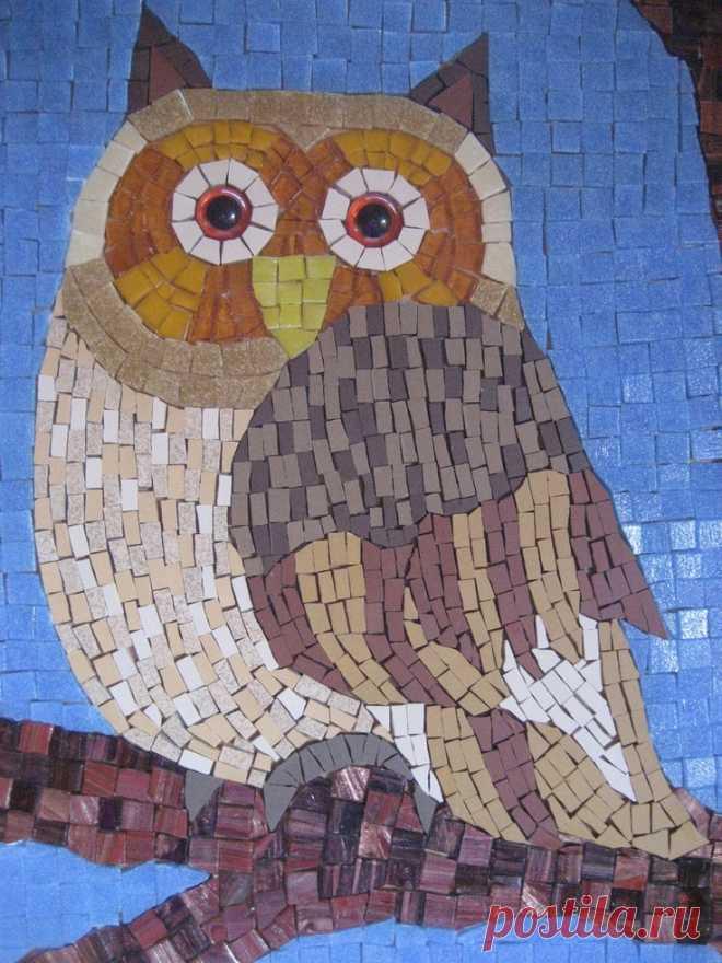 Owl Mosaic (Page 1) - Line.17QQ.com