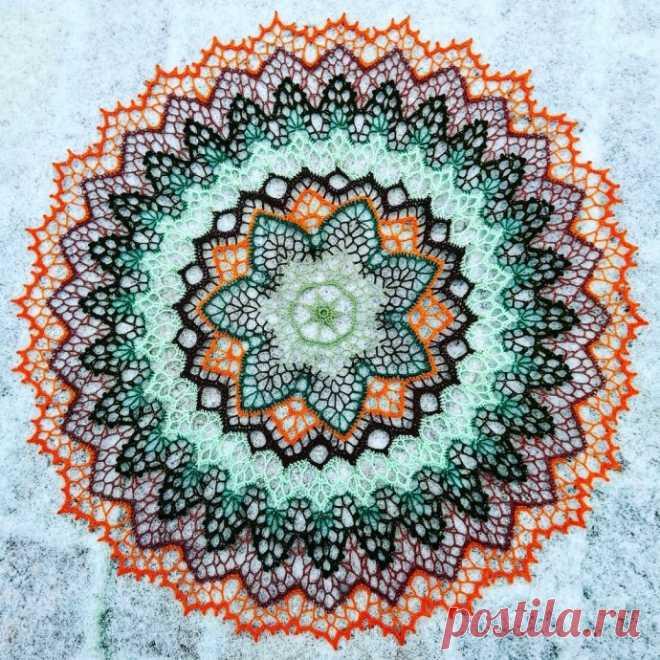 Салфетка Цветик-семицветик, ирис