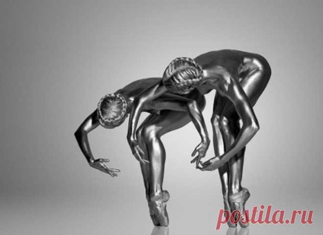 Грациозные живые статуи, или девушки-скульптуры на снимках итальянского фотохудожника