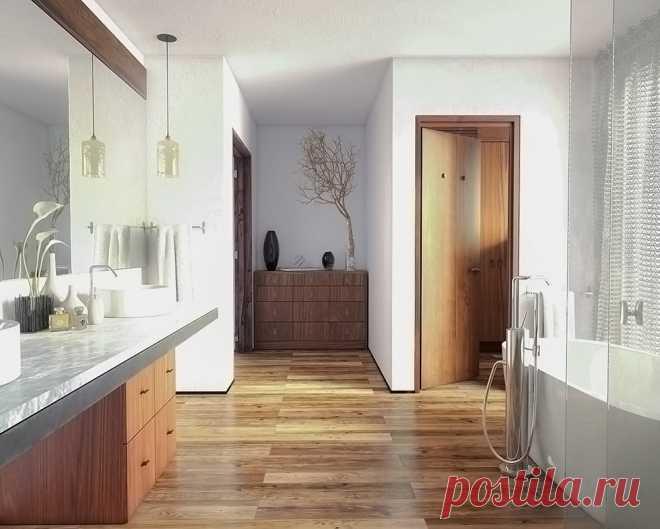 Ламинат для укладки в ванной и санузлах от компании SPC StoneFloor Сосна Редривер купить в Ярославле.