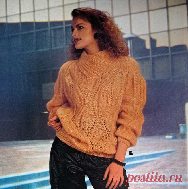 Два свитера из Журнала Мод. Догадайтесь, сколько лет этим журналам? | Магия Вязания / Knitting Magic | Яндекс Дзен