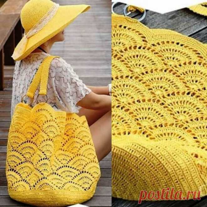 Яркая летняя сумочка
