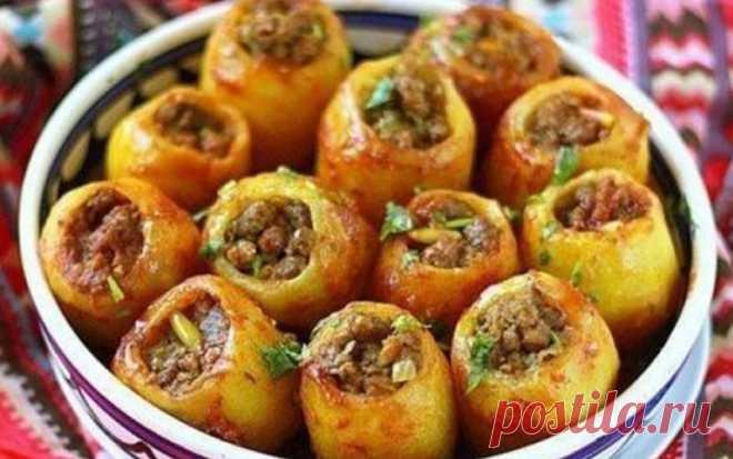 Оригинальный способ приготовления фаршированного картофеля понравится всем - Скатерть-Самобранка - медиаплатформа МирТесен