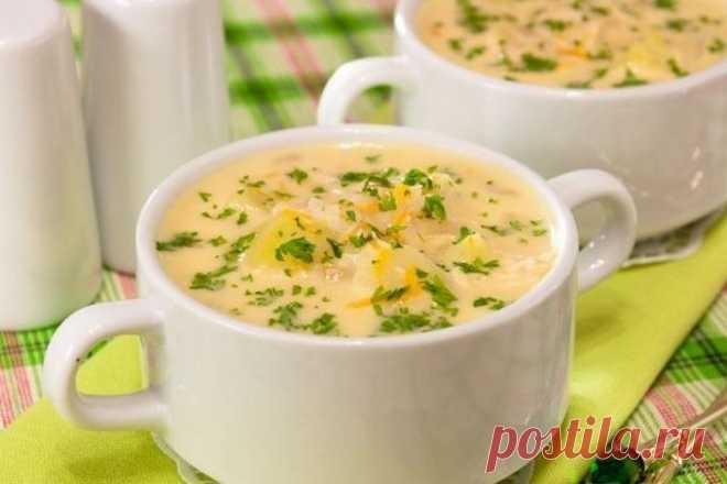 Молочный грибной суп | Рецепты красоты