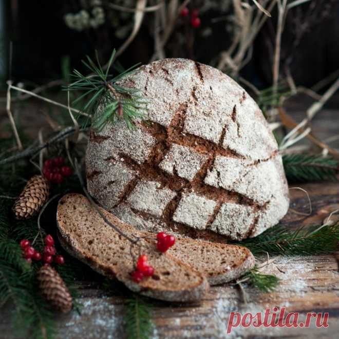 German Holsteiner Landbrot rye bread