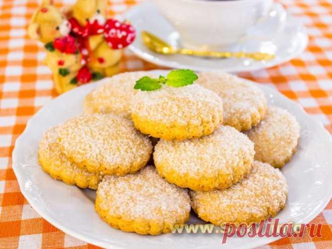 Печенье с кукурузной мукой