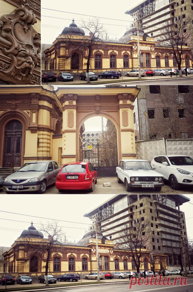 VIP-парковка в Кишиневе, там, где Художественный Музей (Дом Херца ) | Мой мир в фотографиях