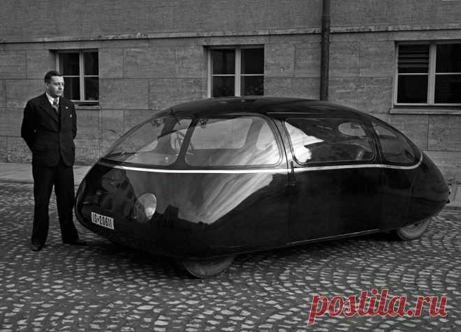 Самый аэродинамически совершенный автомобиль был создан до войны | АвтоИстория | Яндекс Дзен