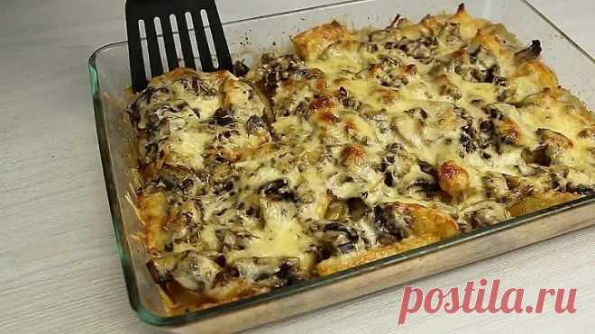 Очень вкусный УЖИН из обычного картофеля! Разнообразьте своё меню!)