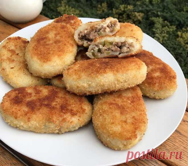 Картофельные котлетки: шикарный ужин из самых простых ингредиентов!