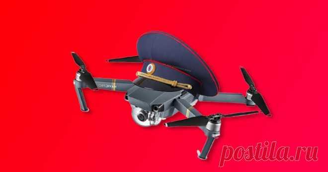 В России разработали дроны-убийцы для борьбы с другими дронами Менты теперь и в виде дронов.