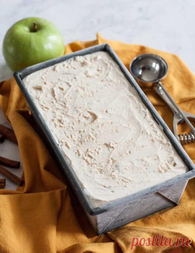 Домашнее мороженое с яблоками и корицей (для осенних обедов) – Woman Delice