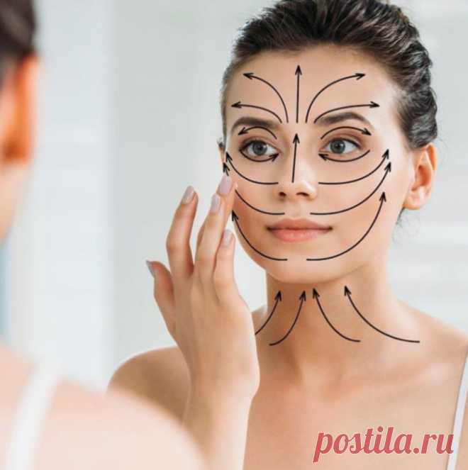 Лифтинг-масаж солёной водой и щёткой: лицо подтягивается, кожа становится яркой и упругой