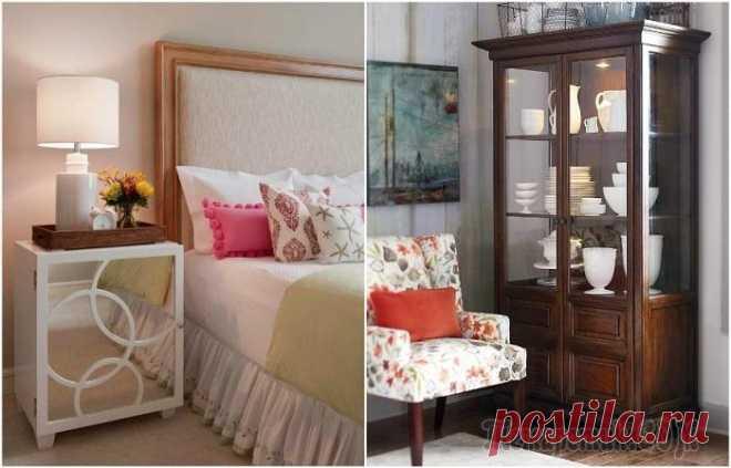 6 предметов мебели, которые захламляют маленькую квартиру Маленькая квартира – это вовсе не приговор. При правильном подборе и расстановке мебели даже из крохотной хрущевки можно сделать очень красивое и уютное жилье. Главное – не допускать серьезных ошибок....