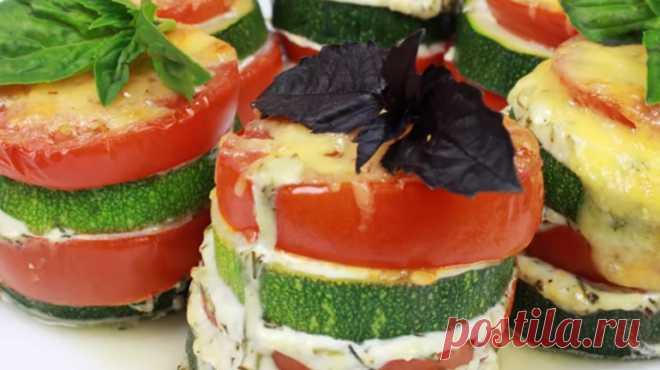Биг Мак из кабачков и овощей: для тех, кто не ест мучные блюда