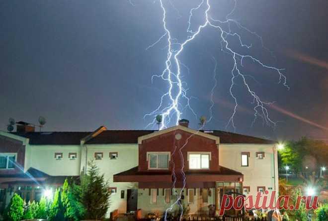 Молниезащита частного дома: установка громоотвода и заземления