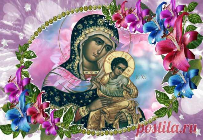 23 июля - День Коневской иконы Божией Матери. Арсений Коневской ...