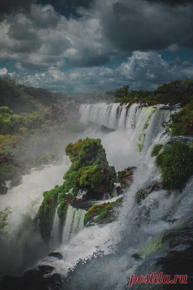 """earthunboxed: """"Iguazú Falls, Argentina """""""