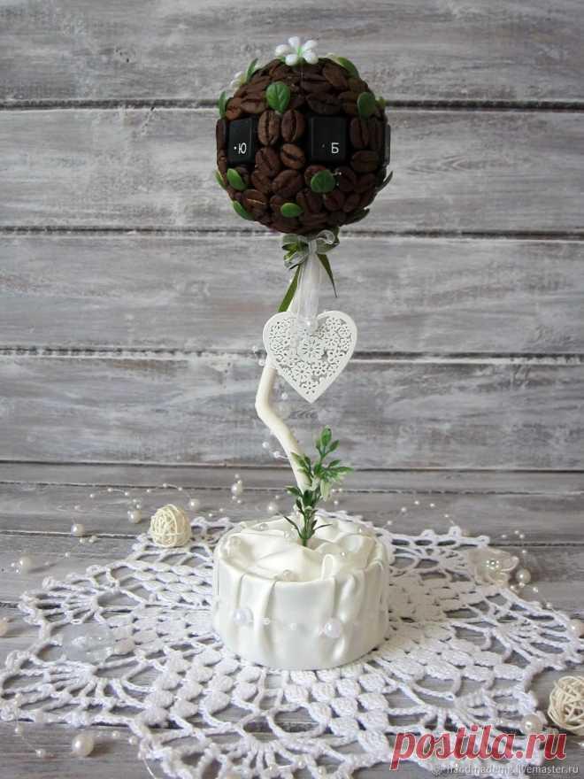 Топиарии кофейные. Невесты – купить на Ярмарке Мастеров – O04IKRU   Топиарии, Москва