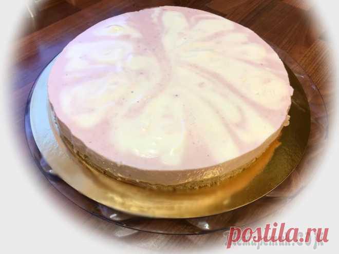 Торт без выпечки Здравствуйте!Предлагаю всем желающим попробовать нежный, освежающий и легкий в приготовлении торт без участия духовки, всё же лето на дворе! Буду рада, если рецепт кому-нибудь пригодится.Нам потребует...