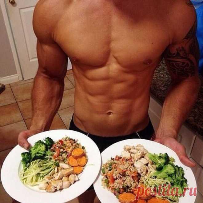 Эффективное Похудение. Эффективное питание для набора мышечной массы для мужчин