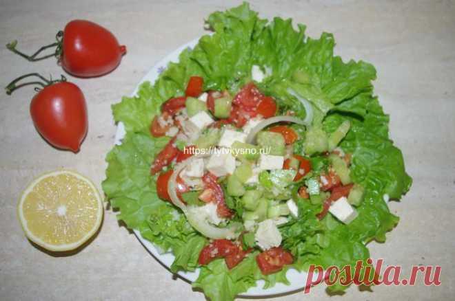 Овощной салат с кускусом и сыром — ТутВкусно! ru