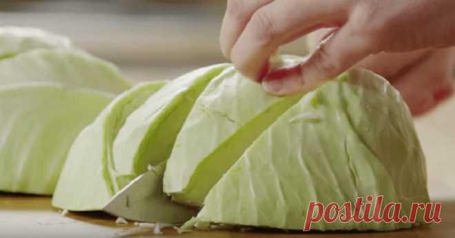 Никогда еще не пробовал такой вкусной капусты… Крутой рецепт! Теперь готовлю только так! — 1001 СОВЕТ
