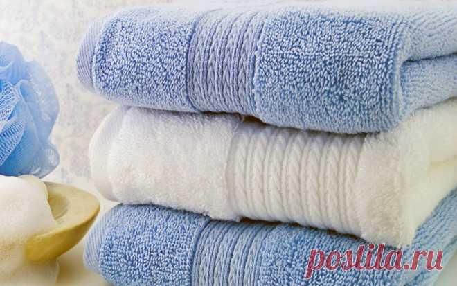 Как сохранить полотенца мягкими и пушистыми: 5 советов