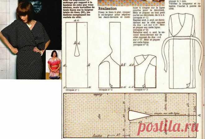 Успеть за 60 минут: как сшить платье без выкройки и сложных расчётов    3 эффектные модели   Швейный омут   Яндекс Дзен
