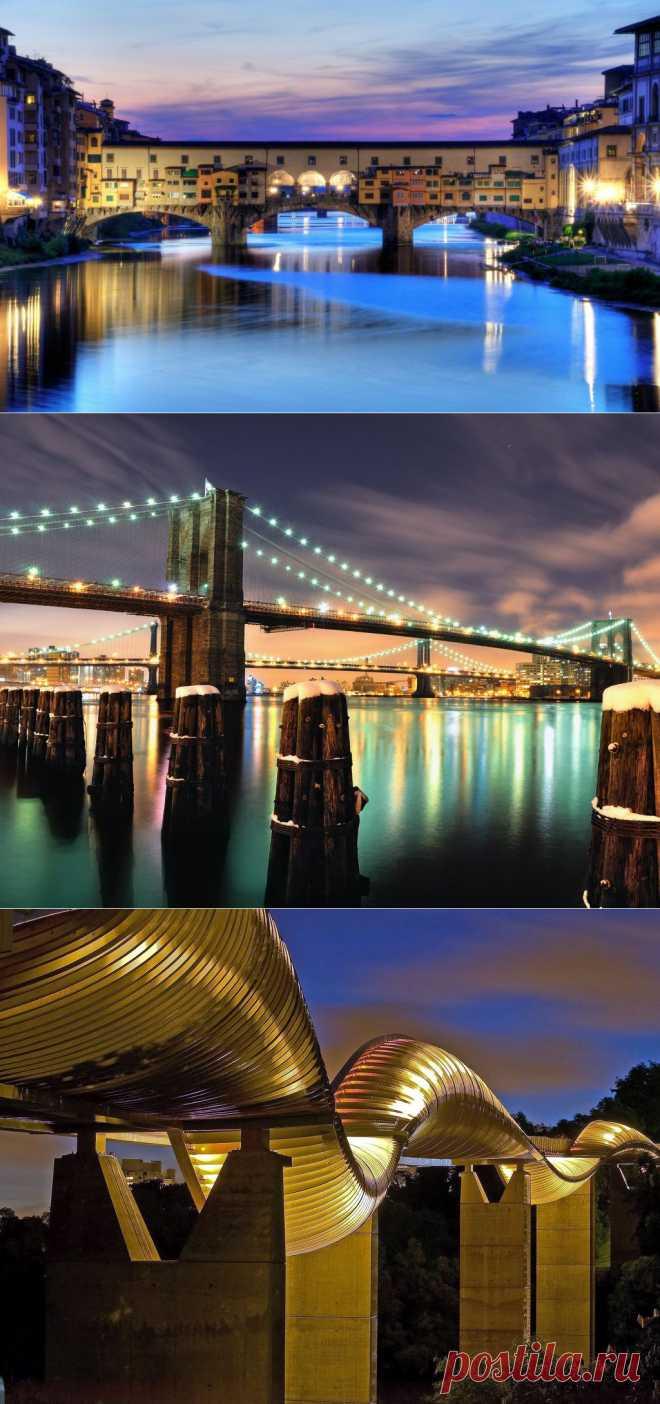 «Золотые ворота» и еще 8 потрясающих мостов для пеших прогулок : НОВОСТИ В ФОТОГРАФИЯХ